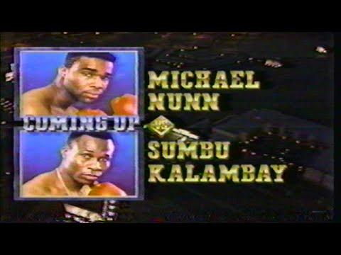 Michael Nunn vs Sumbu Kalambay - HBO PROGRAM