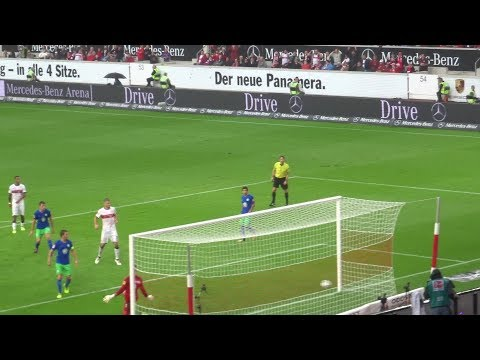 VFB vs. Wolfsburg - 42.': Tor Akolo (2017 live @ Mercedes-Benz Arena - Stuttgart)