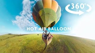 AWESOME HOT AIR BALLOON 360 VIDEO