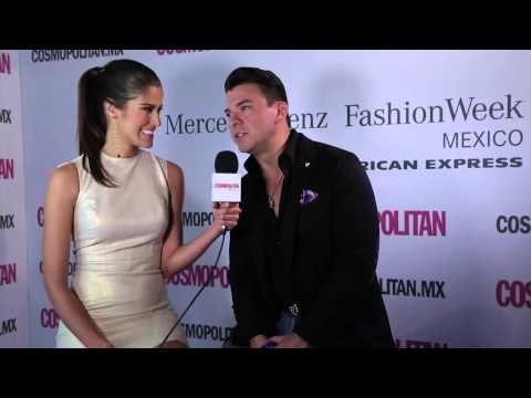 Mauricio Serrano en el MBFWMX P/V 2015
