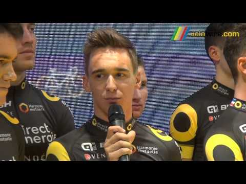 Interview coureurs Team Direct Energie 2016