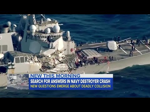 USS Fitzgerald collision with Cargo Ship under Investigation unanswered Questions