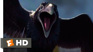 Turbo (2013) - Snail vs. Crows Scene (4/10) | Movieclips