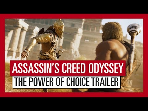 Assassin's Creed Odyssey: The Power of Choice Trailer thumbnail