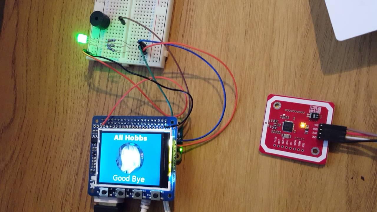 Pi Zero RFID Reader