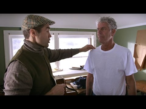 raw-craft-with-anthony-bourdain---episode-two:-frank-shattuck