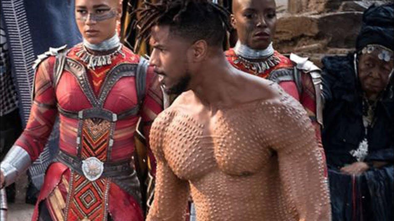 41cab1f30b2 How Michael B. Jordan Got Ripped For Black Panther - YouTube