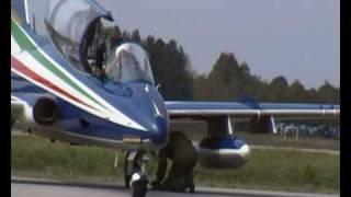 PAN Frecce Tricolori (Aermacchi MB-339) Engines start 100th anniversary