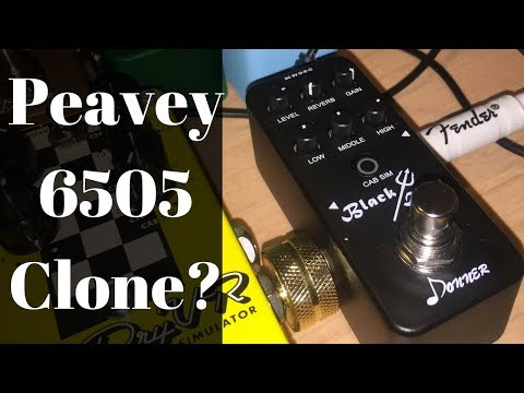 Peavey 6505 Clone Pedal Donner Black Devil FIRST LOOK Review