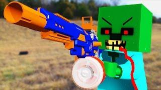 LEGO meets Minecraft 5 (Nerf War)