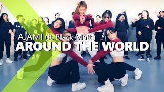 Ajami - Around The World ft. Black Matti / JaneKim Choreography.