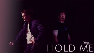 Steve & Tony [Stony] || Hold Me (In Your Arms)