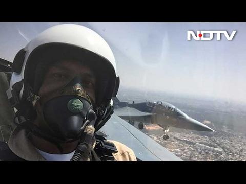 Exclusive Tejas Video on NDTV: Vishnu Som Flies On The Fighter Jet