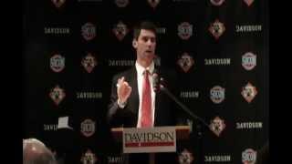 Gambar cover Davidson Football Names Paul Nichols Head Football Coach