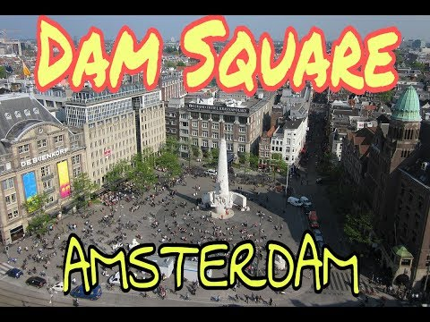 Dam Square: the Best place to visit in Amsterdam & tourist attraction place ||  Netherlands