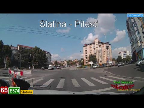 Romania : DN65/E574 Slatina (OT) - Pitesti (AG)