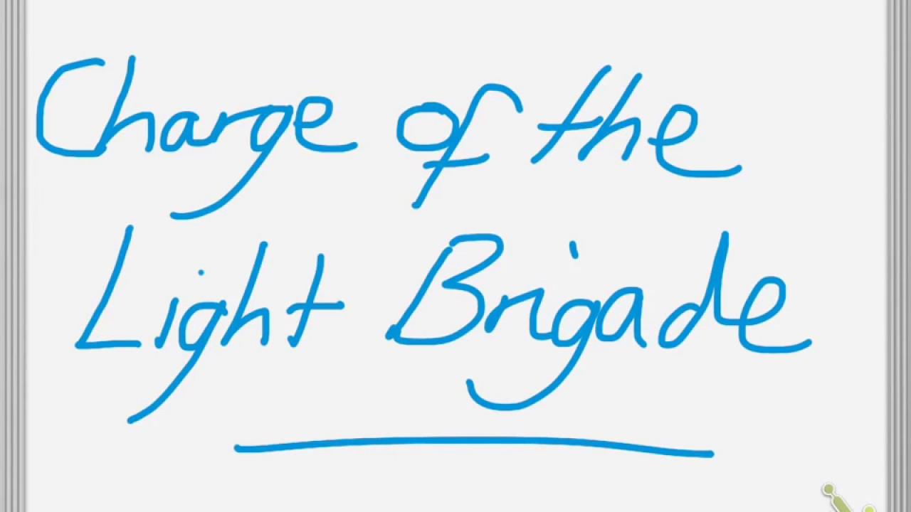 Charge Light Brigade