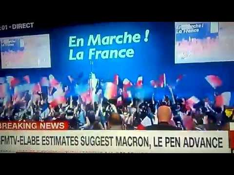 France presidential election, Macron Leads, Le Pen follows closely