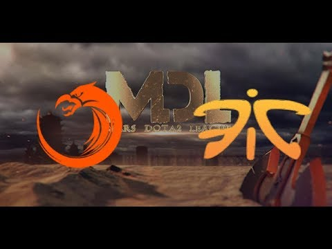 TNC vs Fnatic  2017 Mars Dota 2 League Highlights Dota 2