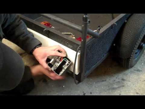 Delboy's Garage, Project Rat Trailer, Part 34, Lights at last.