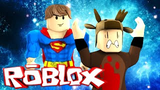 EVIL SUPERMAN - BATMAN IN ROBLOX! (Super-héros Roblox)