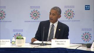 President Obama Attends a CEO Roundtable