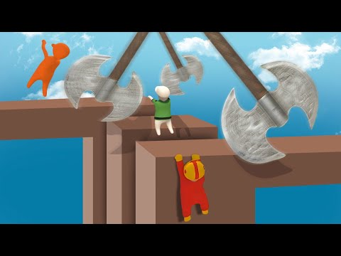 IMPOSSIBLE DEADLY MINIGAMES! (Human Fall Flat)