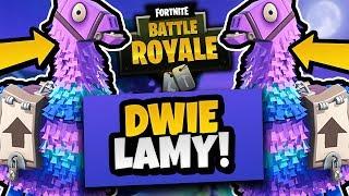 DWIE LAMY W JEDNEJ GRZE?! - FORTNITE BATTLE ROYALE #4 /w AdameK