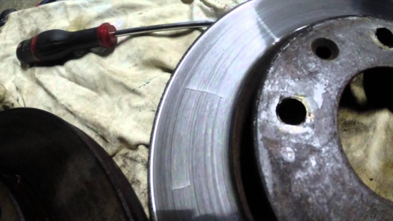 Tutoriel Mecanique Comparaison Entre Disque De Frein Use
