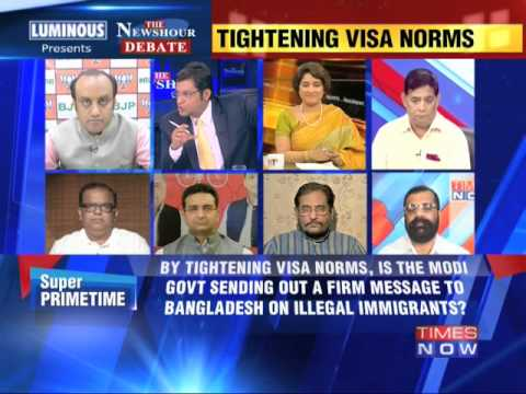 The Newshour Debate: Dhaka visa diplomacy - Part 1 (24th June 2014)