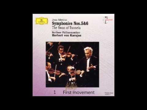Sibelius - Symphony No.6  D minor  Op.104  Karajan  Berlin Philharmonic