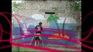 граффити   детям!(Граффити, которое сделал молодой художник в детском саду, являющимся моей работой. Подробнее об этом на..., 2012-07-03T16:06:19.000Z)