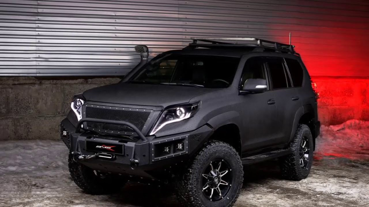 Toyota Land Cruiser Prado Offroad Tuning And Facelift 2