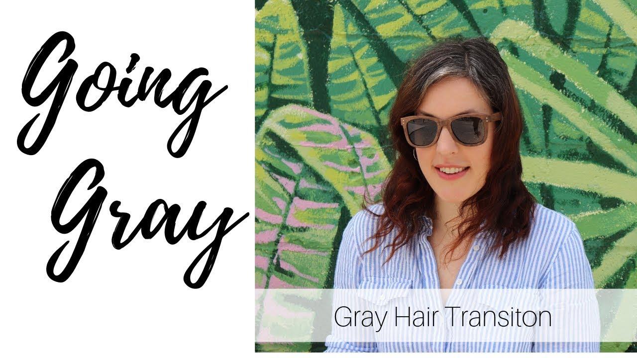 Going Grey at 39   Grey Hair Transition