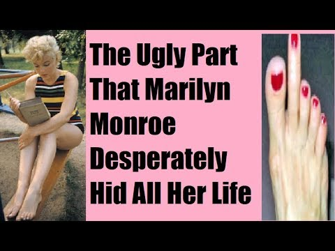 Never Before Seen Marilyn Monroe Ugliness: How A Plain Girl Fooled The Whole World