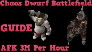 Chaos Dwarf Battlefield Guide - 3M per hour AFK Money Making [Runescape 2014] EOC