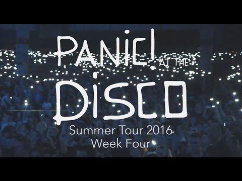 Panic! At The Disco - Summer Tour 2016 (Week 4 Recap)