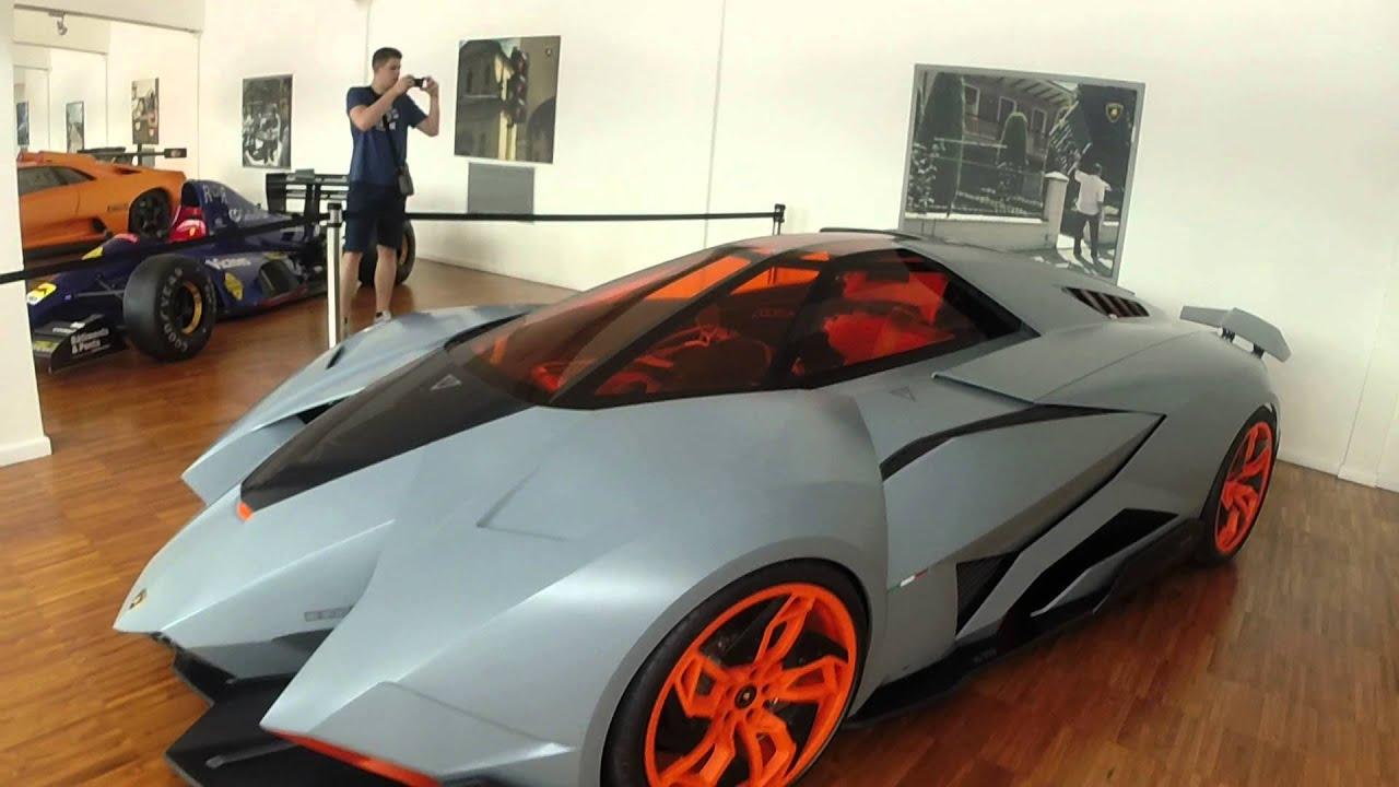 Lamborghini Museum Walkthough Italy Youtube