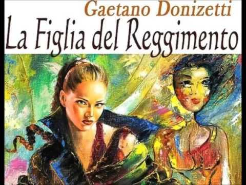 Donizetti. LA FIGLIA DEL REGGIMENTO. Rinaldi, Alva, Taddei. Bregenz, 1971.