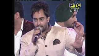 2013 PTC Music Awards - Famous Punjabi Singers on stage live singing