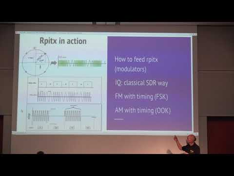 Evariste Courjaud, F5OEO: Rpitx : Raspberry Pi SDR transmitter for the masses