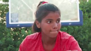 India: Basketball court that is changing lives of many girls - BBCURDU