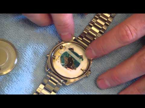 How To Change A Watch Battery