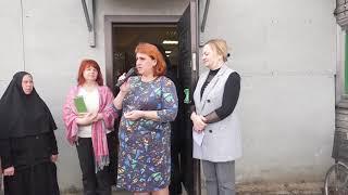 Слово С. Л. Потеряевой, и.о. директора библиотеки п.Терней