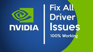 How to Fix Any Nvidia Driver Issues (really easy)