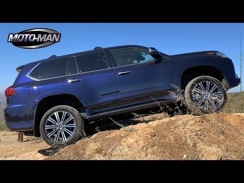 2019 Lexus LX570: A flash $100,000 Off Roader . . . FIRST DRIVE REVIEW