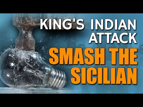 King's Indian Attack - Smash the Sicilian 👏 [Part 2/3] by GM Damian Lemos