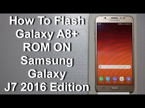 Galaxy A8 ROM ON J7 2016 with Links