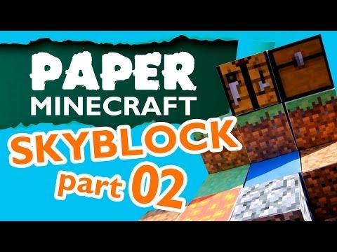 Paper Minecraft - Skyblock part 02