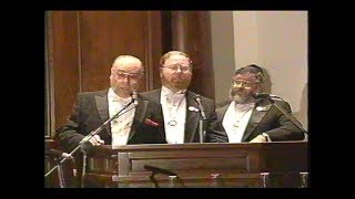 The first Cantorial Concert at The SHUL, Bal Harbour. March 3, 1996. Re-edited HD.